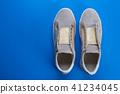 Women's shoes top view 41234045