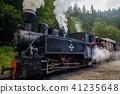 Steam train, Transylvania, Romania 41235648