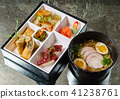 lunch in a bento box 41238761