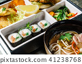 lunch in bento box 41238768