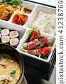 lunch in a bento box 41238769