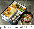 lunch in bento box 41238772