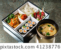 lunch in a bento box 41238776