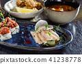 lunch in japanese restaurant 41238778