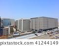 博多站周圍的建築群_KITTE博多,取自JR博多站的東側 41244149