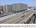 博多站周圍的建築群_KITTE博多,取自JR博多站的東側 41244151
