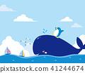 鯨魚 企鵝 海 41244674