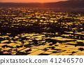 """""""富山縣""""稻田的早晨景觀和水彩的礪波平原""""從Ouyoyama"""" 41246570"""