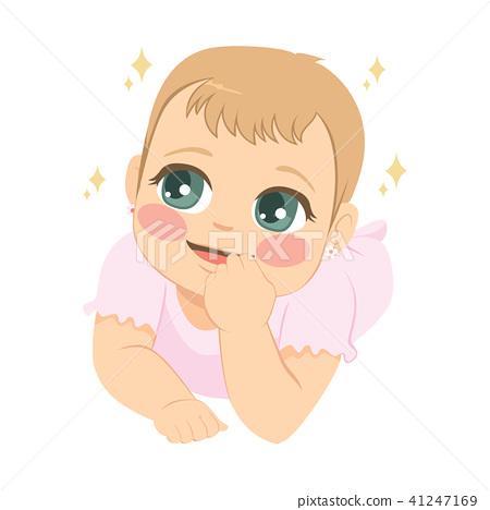 Cute Baby Girl 41247169
