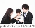 父母和孩子入學儀式 41248470