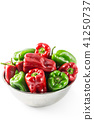 Red and green peppers 41250737