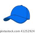 baseball cap vector illustration on white  41252924