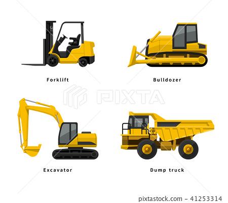 施工,施工現場:重型設備 41253314