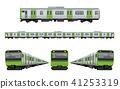 Train, rail: Yamanote line set 41253319