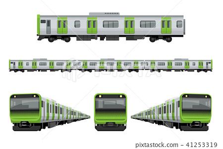 火车,铁路:山手线 41253319