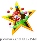 Juggling clown  41253560