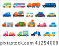 car service colorful 41254009