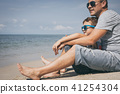 child, father, family 41254304