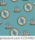 map nautical sea 41254962
