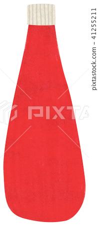 Hand-painted seasoning ketchup 41255211