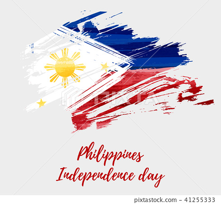 Overlay Philippine Independence Day Card In Vector Format
