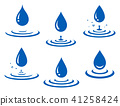 water, drop, vector 41258424