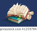 Magic books spreadsheet from fairy tale 41259784