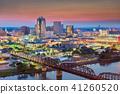 Shreveport, Louisiana, USA Skyline 41260520