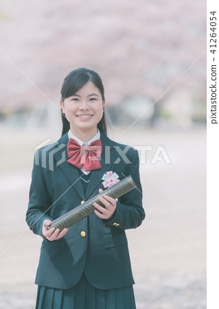 graduate, graduation, high school student 41264054