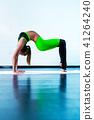 female,woman,exercising 41264240