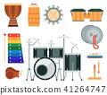 vector music instrument 41264747