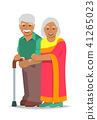 couple, senior, Indian 41265023