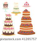 Wedding cakes fresh tasty dessert sweet pastry pie gourmet homemade delicious cream traditional 41265757