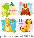 alphabet, letter, animal 41266234