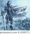 Invincible knight in dark bloody armor 41266571