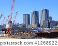 도쿄 올림픽 선수촌 건설 현장 41268922