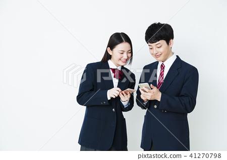 高中學習研究補習班學校粉碎女性朋友男性夫婦 41270798