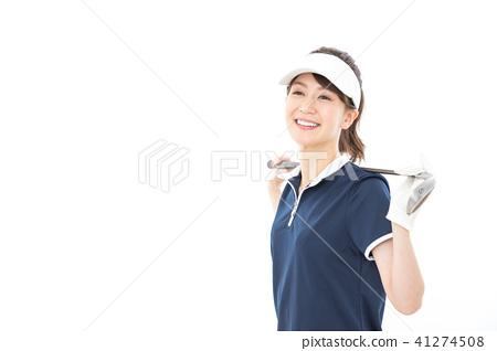 젊은 여성 골프 41274508
