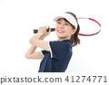 เทนนิสหญิงสาว 41274771