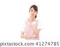 成熟的女人 一個年輕成年女性 女生 41274785