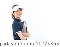 เทนนิสหญิงสาว 41275365