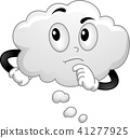 cloud vector think 41277925