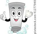 Mascot Shampoo Illustration 41277940