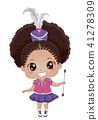 kid, girl, majorette 41278309