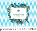 tropical vector plant 41278948