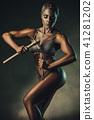 Bodybuilding concept 41281202
