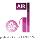 Wheels pump station icon 41285274