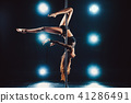 Pole dancing woman 41286491