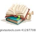 Magic books spreadsheet from fairy tale 41287708