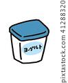 酸奶 41288320